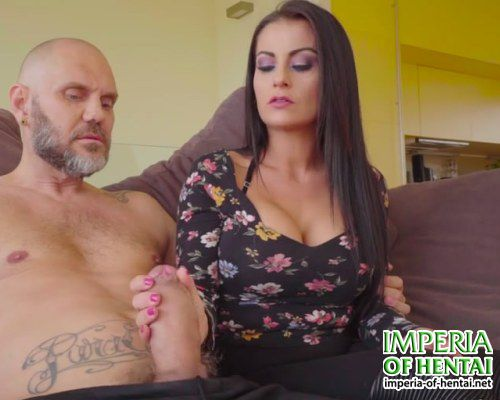 Natalie feels the power of his cock